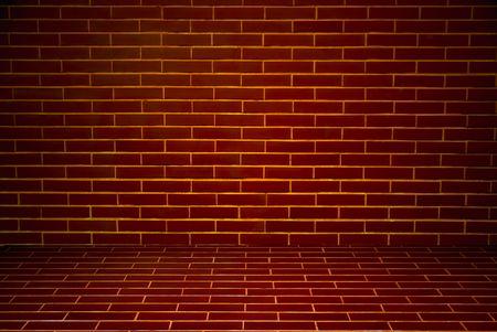 Old brick walls and floor Stock Photo - 7993155