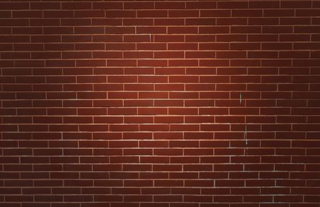 Old brick walls and floor photo
