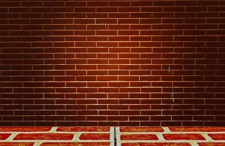 Old brick walls and floor Stock Photo - 7993283