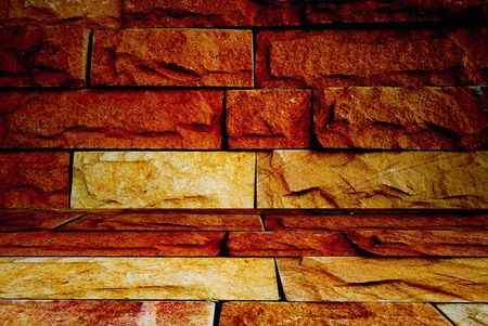 Orange wall Stock Photo - 8503791