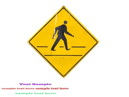 Yellow sign icon Stock Photo - 9551501