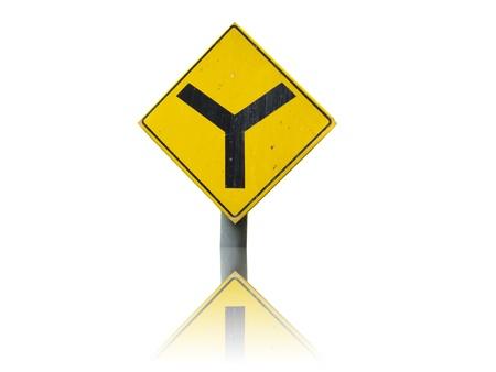 Yellow sign icon Stock Photo - 9551429