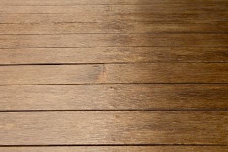 table grain: Parquet flooring is brown
