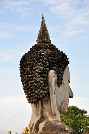 Wat Yai Chai Mongkol. Phra Nakhon Sri Youth of Thailand photo