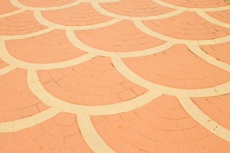 The orange-brick pattern Stock Photo - 11202738