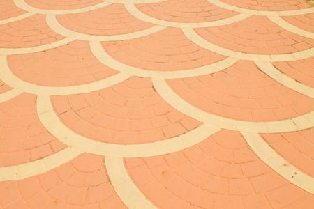 The orange-brick pattern Stock Photo - 11202738