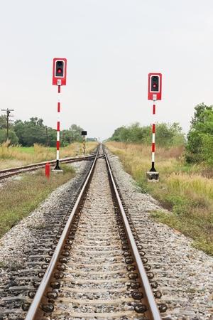 toils: Railway and light signal