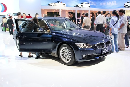 BANGKOK, THAILAND- MARCH 28: A BMW on display at The 33th Bangkok International Motorshow 2012 at Impact on March 28, 2012 in Bangkok,Thailand