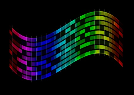 Abstract spectrum background photo