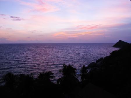 Sunset beach in Thailand Stock Photo - 15604215