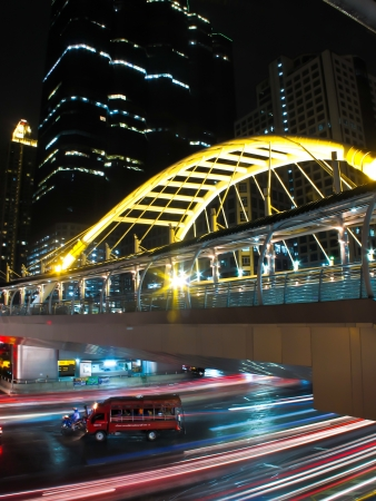 business area , In the city of bangkok photo