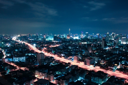 View over the city of Bangkok Stock Photo - 16534279