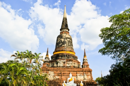 ayuthaya: Old Temple of Ayuthaya,in Thailand Stock Photo