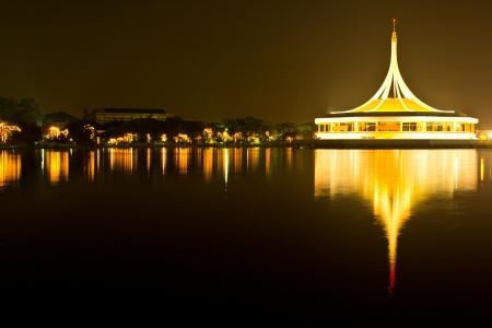 Twilight of Bangkok city in Thailand Stock Photo - 17019936