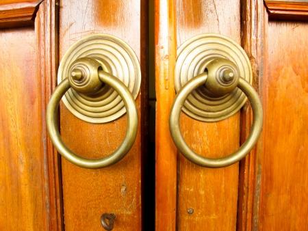 Brown wooden door Stock Photo - 18541153