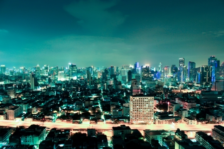 Business area , In bangkok,Thailand Stock Photo - 18541174