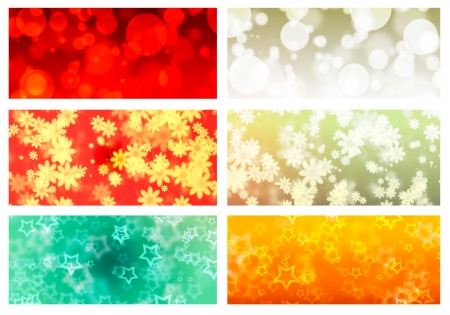 Abstract light background with color photo
