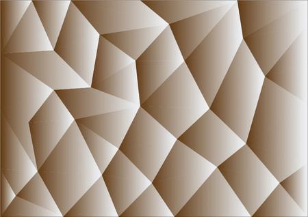 occlusion: Polygon mosaic background.Vector illustration Illustration