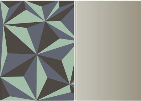 Polygon mosaic background.Vector illustration Illustration