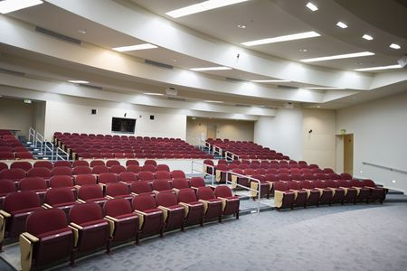 Empty lecture hall Stock Photo - 3540843