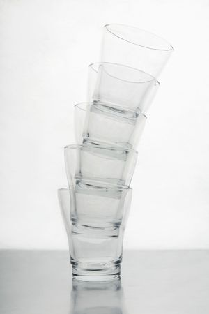 Stack of drinking glasses Stock Photo - 3540662