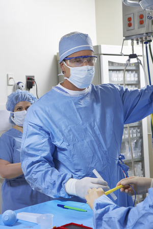 Surgeon in operating room Stock Photo - 3812279