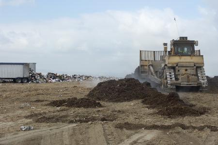 landfill site: Discarica