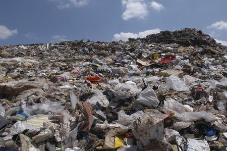 landfill site: Rifiuti in discarica