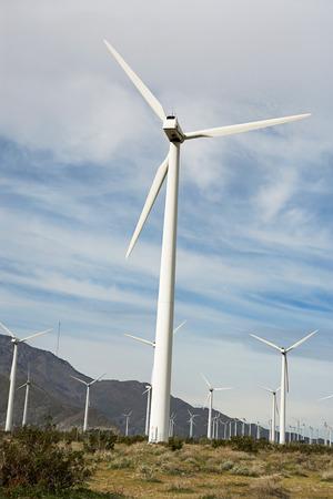 wind farm: Aerogeneradores en parque e�lico