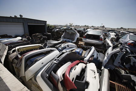 Junkyard Stock Photo - 3811975