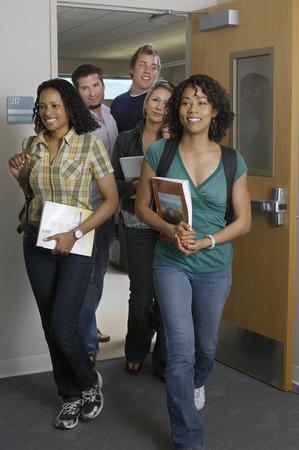 Studenten Eingabe Klassenzimmer Lizenzfreie Bilder - 3812142