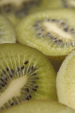 Kiwi fruit, close-up Stock Photo - 3813036