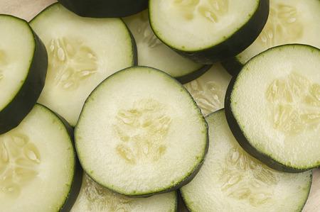 Cucumber slices Stock Photo - 3813082