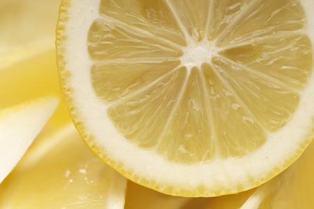 Cross section of lemon Stock Photo - 3813018