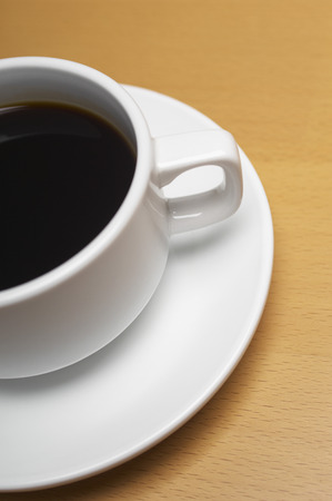 Cup of coffee, close-up Stock Photo - 3812848