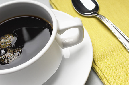 Cup of coffee, close-up Stock Photo - 3813101