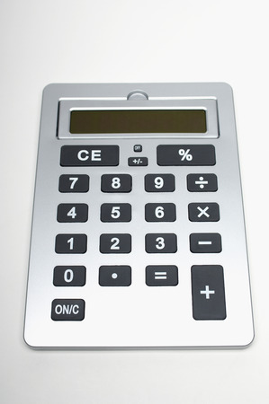 Silver calculator Stock Photo - 3812868