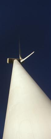 Wind turbine, low angle view Stock Photo - 3906383
