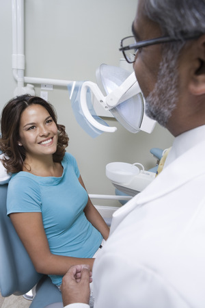 Dentist and patient Stock Photo - 4925977