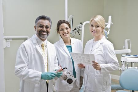dentist office: Team of dentists