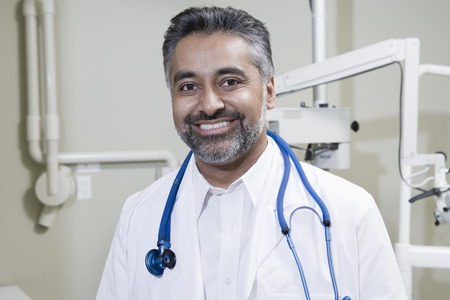 middle easterners: Portrait of male doctor
