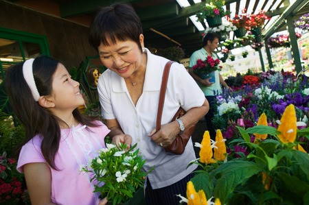 opting: Family Shopping for Plants