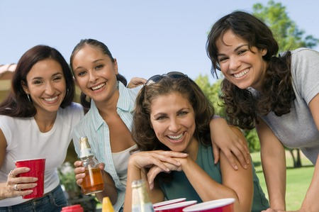 Women at a Picnic Stock Photo - 5404717