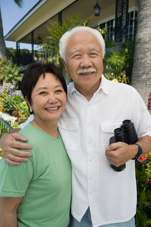 Couple with Binoculars Stock Photo - 5412306