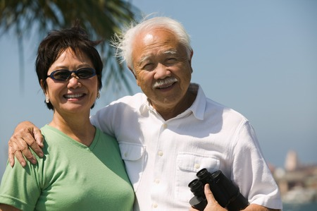 Couple with Binoculars Stock Photo - 5412324