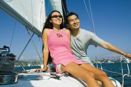 Sailing Couple Stock Photo - 5404507