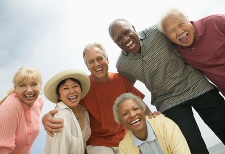 Group of Friends Laughing Stock Photo - 5404526