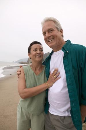 Couple at Beach Stock Photo - 5412370