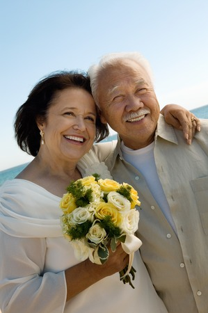 bridegrooms: Senior Newlyweds LANG_EVOIMAGES