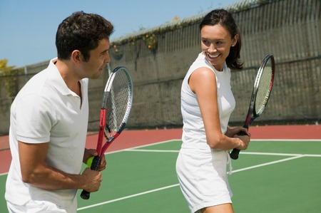 capable of learning: Tennis Player Getting Instruction